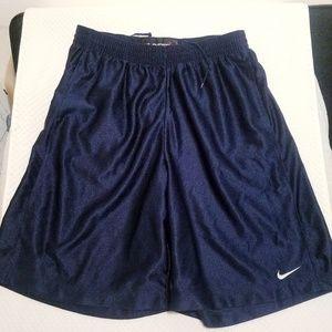Men's Nike Navy Blue Basketball Shorts XXL